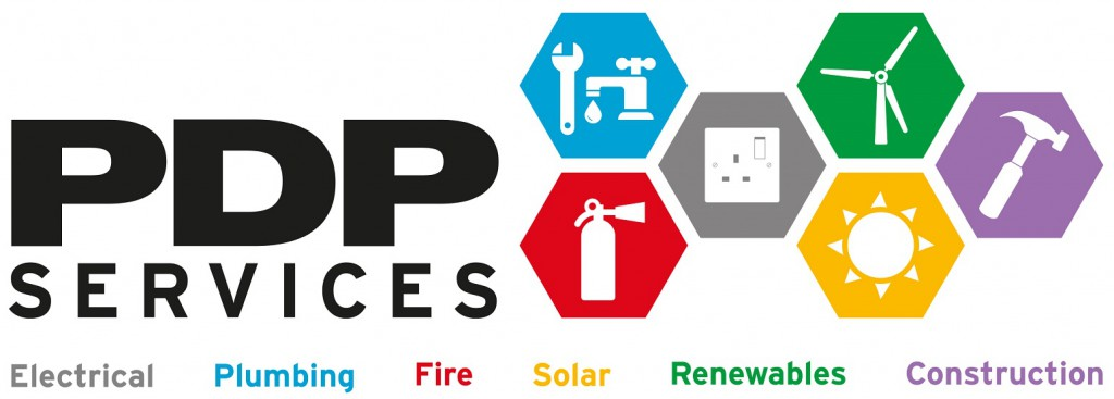 PDP services logo colours A3