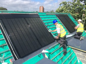 0.6kWp solar PV systems installed on 13 new builds in Burgess Hill